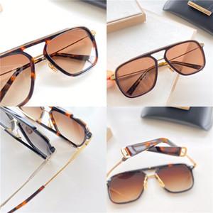novo designe óculos homens óculos de sol de moda de Nova série moldura quadrada proteção UV400 exterior eyewear DLANCIER