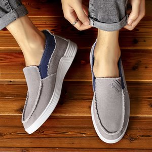 2020 Lightweight Canvas Casual Shoes For Men Sneakers Men tenis masculino Breathable Sun High Quality designer Cowboy Flat Shoes