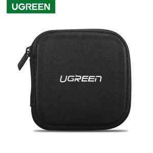5Pcs lot Ugreen Earphone Case Hard Headphone Bag For Airpods Earpods Sennheiser Ear Pads Wireless Bluetooth Earphone Accessories