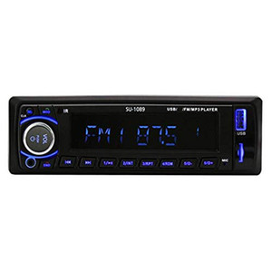 SU-1089 Autoradio Car Radio Stereo MP3 Player Bluetooth In-dash 1Din Phone AUX-IN MP3 FM USB remote control