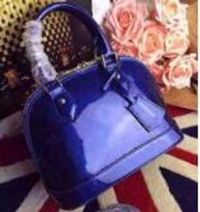 Lüks klasik kabuk çanta Damier Patent deri Izgara çanta tasarımcı çantaları omuz çantaları kadın tuval Crossbody çanta alışveriş Tote 25 cm