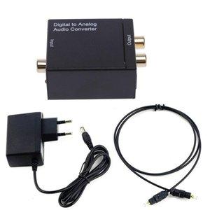 300set الرقمية لتحويل الصوت التناظري محول رقمي Adaptador البصرية محوري RCA كيبلات الإشارة إلى تحويل الصوت التناظري
