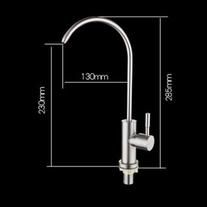 Kitchen Direct Drinking Water Filter Tap 304 Stainless Steel Ro Faucet Purify System Reverse Osmosis Robinet Cuisine Torneira Other Bakeware