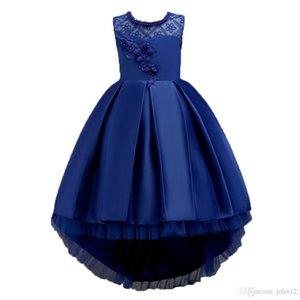 2019 Elegant and Pretty Girls or Women Dress Lace Princess Dress Children's Wedding Dress Performance Skirt Children's Birthday Gifts