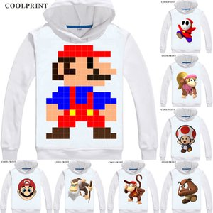 Super Mario Bros Luigi Shy Guy Odyssey Donkey Kong Anime Cosplay personalizado moleton com capuz clássico Impresso Moda