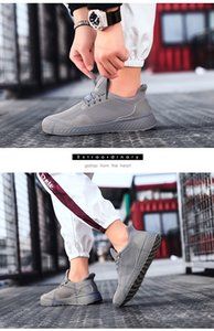 Wholesale Men High Top Style Causal Shoes Men Red Black White Shoes running sneaker trainers Size 39-44