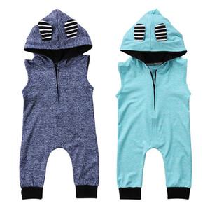 جديد لطيف الرضع حديثي الولادة طفل رضيع فتاة رومبير بذلة الزي قصيرة الأكمام زيبر رومبير بذلة الملابس
