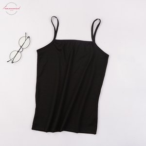 Llyge New Sexy Ultra Thin Womens Camis Tops Spaghetti Stap Solid Soft Hollow Out Mini Vest Female 2020 Summer Casual Breathable Lady
