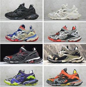 Balenciaga sports shoes Hococal En kaliteli Üçlü S 2.0 gündelik Sneakers lüks TRACK.2 EĞİTİMCİ Tasarımcı açık ayakkabı EĞİTİMCİ TRACK.2 Üçlü siyah beyaz ayakkabılar