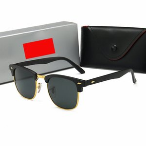 Дизайнер Mens вождения солнцезащитные очки женщин Золотой кадр Cateye очки Женщины Sunglass Оригинальные кожаные чехлы, аксессуары, коробка