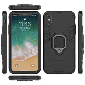 Cases For iphone 6s 7 8 xs xr 11 pro max plus Samsung s10 note10 Huawei p30 phone case magnetic ring bracket