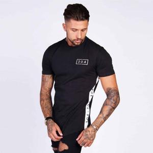 Nouvelle tendance 304 Design d'impression Hommes t-shirt Creative Réunissant ensemble Casual Homme Basique Tops Manches Courtes T-shirts Personnalité Tee