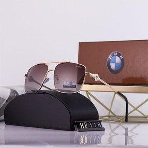 2020 Hot Sale Brand Design Sunglasses Vintage Pilot Brand Sun Glasses Band UV400 Men Women Ben Metal Frame glass Lens A1