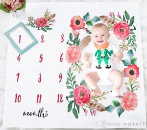 Baby Girl Boy Literie feuille nordique style fleur feuille blanche photo Toile de fond Photographie Prop Shoots Feuilles