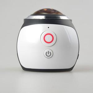 360 فيديو واي فاي البسيطة بانورامي كاميرا 2448 * 2448 الترا HD 360 درجة للماء الرياضة الدافعه العمل