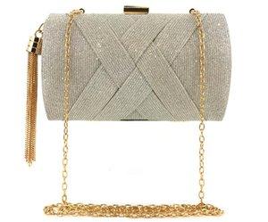 2020 nuove signore di modo Hand Holding Evening Bag Cambiare colore Satin nappa banchetti Borse