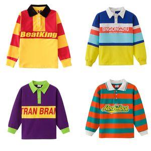 Trajes de baile de hip-hop para niñas estilo hip-hop Jazz Street Dance Wear suelta Hiphop camisa niños Rave ropa SL2857