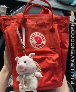 Authentic Newfashioned Fjallraven Kanken Totepacks Multifunction Canvas Bags Unisex Schoolbag Waterproof Outdoor Sports Bags