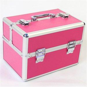 Новый профессиональный косметический Box водонепроницаемый макияж Box Чемодан Популярные Cometic Travel Bag Make Up Organizer Cosmetic Toolbox Большой T200104