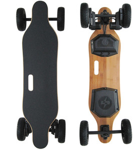 2018 New 4 Wheel SUV Electric Skateboard 1800W 8000mAh Off Road Longboard Hoverboard Scooter Dual Motor with Remote Controller