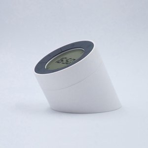 BRELONG rechargeable dual-use gravity sensor night light combination alarm clock dimmable atmosphere light white 1 pc