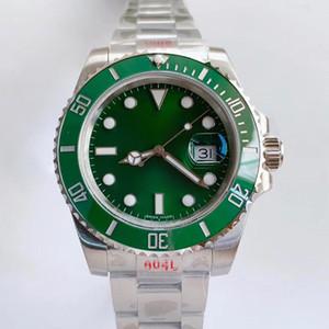 N-Fabrik Sub 116610LV 116610LN V8 Keramik-Lünette 904L Stahlband EAT 2836,3135 Bewegung Automatische mechanische Uhr Luxuriöse Uhr