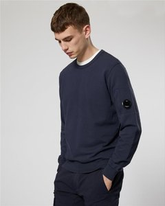 2020SS CP ronda de tendencia cuello del suéter de otoño ins suelta perezosos de los hombres de piedra cimera de Corea de los hombres de la camiseta suelta puente ocasional compañía desinger