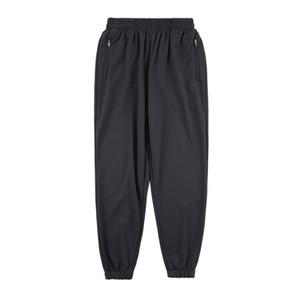 Hip Hop Koşucular Pantolon Katı Pamuk Erkekler Günlük Pantolon Fermuar Pantolon Spor Eşofman Streetwear Sweatpants