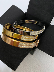 Titan Stahl Liebe CZ Charme Armbandarmband für Männer und der Frauen Engagement Hochzeit Schmuck Paare Liebhaber Geschenk