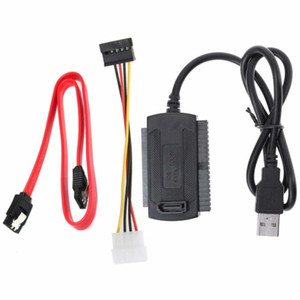 UK SATA PATA IDE Drive to USB 2.0 Adapter Converter Cable for 2.5 3.5 Hard Drive
