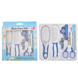 Multifunktions-Baby Gesundheitswesen Thermometer Hygiene Kosmetik Pinsel Neugeborenes Kind Kit-Nagel-Trimmer Kleinkind Scissor Körperpflege-Set