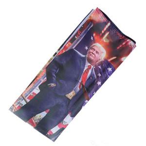 Hanging 90 * 150cm numérique Imprimer Donald Trump sur l'impression du réservoir Drapeau Trump Hanging 3x5ft grand drapeau Décor Trump réservoir bannières DH1033