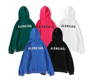 Mens Paris Balenciaga Pullover Mode-Männer Stylist-Jacken-Männer-Frauen-Qualitäts-beiläufige Sweatshirts Mantel-Jacken-M-2XL