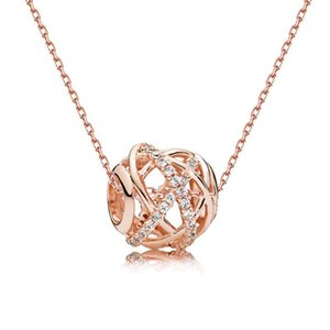 925 String Silver Light Luxury Rose Gold And Silver Color Temperament Galaxy Necklace For Woman Created Gift