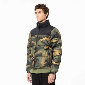 Nouveau camouflage champ au nord veste vers le bas, l'impression numérique pour les hommes et les femmes, chapeau caché, amovible, chaud et imperméable à l'eau M ~ 2XL