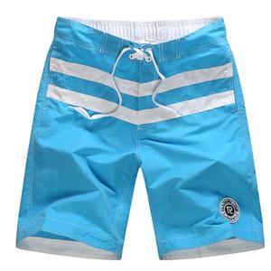 Hombres Casual shorts de baño Verano Pantalones cortos de secado rápido acoplamiento del aire de la nadada tabla de surf Bermudas Beach Moda masculina