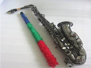 Nouveau saxo alto de haute qualité noir nickel saxophone Alto professionnel instruments de musique saxophone son E Sax avec embouchure gratuit
