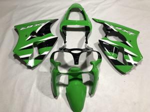 Kit corpo carena iniezione per KAWASAKI Ninja ZX6R 636 00 01 02 ZX 6R 2000 2001 2002 Carrozzeria ABS verde Carenature + Regali GS16