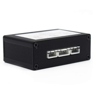 자동차 정보 용 앞면 뒤 주차 뒤집기 비디오 카메라 스위치 2 채널 제어 박스 변환기보기 차량용 차량용 모니터 블라인드