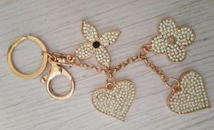 Il più nuovo modo Diamond portachiavi Accessori per catena chiave nappa portachiavi modello auto portachiavi fascino borsa gioielli