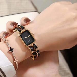 2020 Luxury известной марки Женщина Браслет наручных часы повелительница платье часы Дизайнер из натуральной кожи из нержавеющей стали H0451 женщин Часы