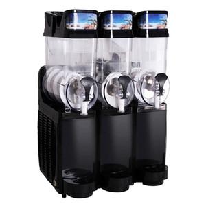 Masaüstü ticari 15L * 3 kar eritme makinesi 3 silindirli kar çamur makinesi otomatik kar eritme buz eritme makinesi yüksek kalitede