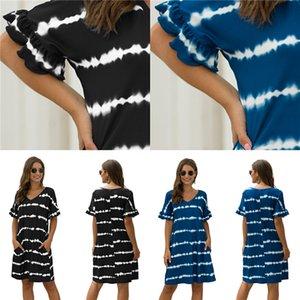 French Retro Platycodon Skirt Summer 2020 New Waistband Show Thin Temperament Suit Collar Plaid Dress Female#997