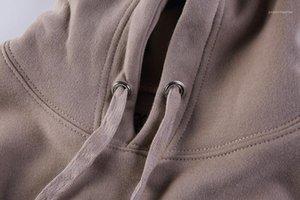Hiphop Oversize capuz capuz bordado Designer Mens Hoodies Primavera Outono
