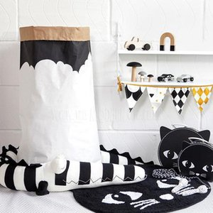 185cm Baby Pillow Children stripe Crocodile Pillow Cushion Baby Infant Bed Crib Fence Bumper Kid's Room Decoration Toys