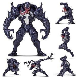 figura figma Serie No.003 Revoltech Venom Con staffa in PVC Action Figure Collection Model Toy 15 centimetri
