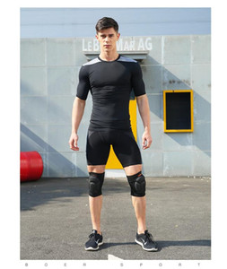 2020 Anti-collision thickening sports knee pads Goalkeeper kneeling dance hip-hop climbing sponge knee pads to relieve knee pressure