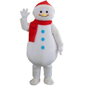 2019newNoel Snowman Maskot Kostüm Fantezi parti Noel Elbise