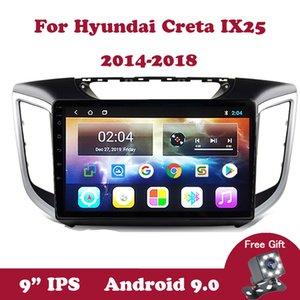 Android 9.0 Multimédia Stéréo Lecteur pour Hyundai IX25 Creta 2014 2015 2016 2017 2018 2 Go + 32 Go DSP RDS voiture Radio Navigation GPS