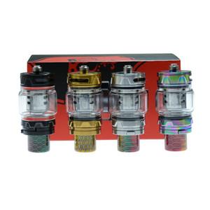 100% 4.5 ml Original TFV12 Príncipe tanque com ponta Cobra gotejamento Top sistema de refil rotativo E-cigarro Tanque Atomizador
